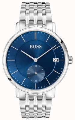 Boss Men's Corporal Stainless Steel Blue Dial 1513642