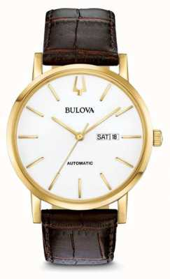 Bulova Men's American Clipper Automatic Gold PVDwatch 97C107