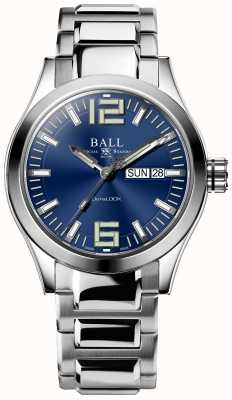 Ball Watch Company Engineer III King 43mm Blue Dial with Black Silicone Strap NM2028C-L13A-BE-SILICONE