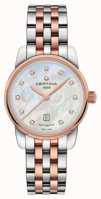 Certina | DS Podium | Lady Automatic | Two Tone Bracelet | C0010072211600