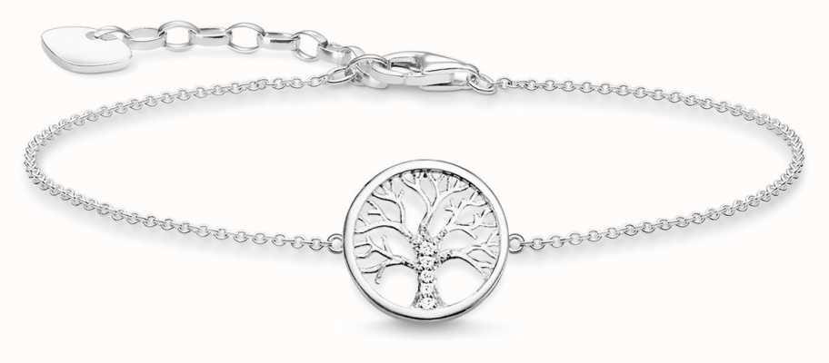 Thomas Sabo Sterling Silver Bracelet 16-19cm A1828-051-14-L19V