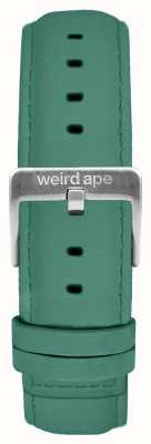 Weird Ape Jade Green Suede 16mm Strap Silver Buckle ST01-000060