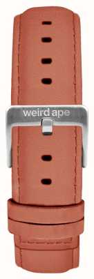 Weird Ape Rose Pink Suede 16mm Strap Silver Buckle ST01-000052