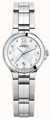 Michel Herbelin Ladies Newport Royale Stainless Steel Watch 14298/B89