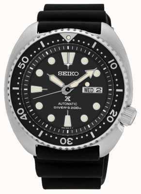 Seiko Mens Prospex Automatic Turtle Diver Watch Black SRP777K1