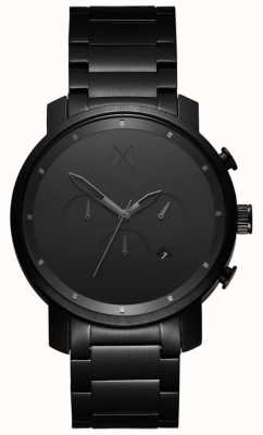 MVMT Mens Chrono 45mm Black Link MC01BB