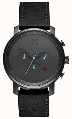 MVMT Mens Chrono 45mm Black MC01-GUBL