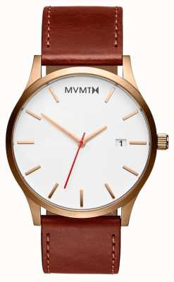 MVMT Mens Classic Natural Tan MM01-WBR