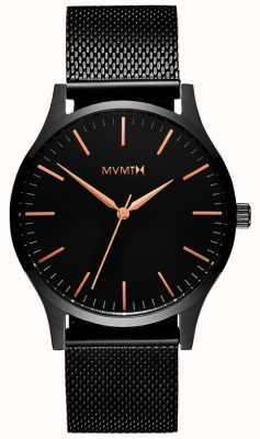MVMT 40 Series Black Rose | Black PVD Mesh | Black Dial D-MT01-BBRG