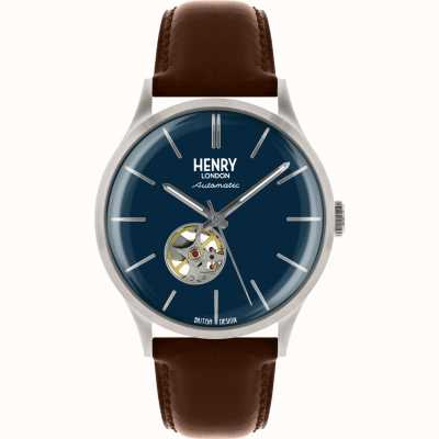 Henry London Mens Henry London Heritage Automatic HL42-AS-0277