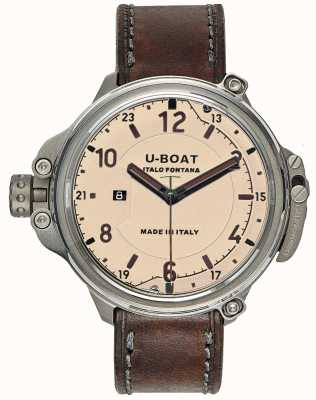 U-Boat Mens Capsule 50 Beige Limited Edition 7470