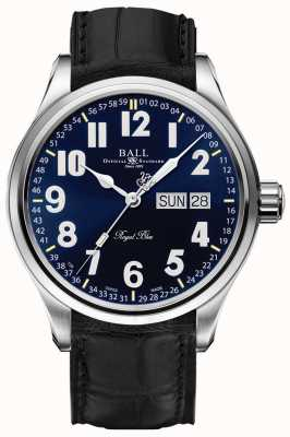 Ball Watch Company Trainmaster Royal Blue Date & Day Display NM1058D-LL9J-BE