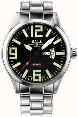 Ball Watch Company Engineer Master II Aviator Automatic Day & Date Display NM1080C-S14A-BK
