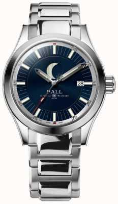 Ball Watch Company Engineer II Moon Phase Date Display Stainless Steel Bracelet NM2282C-SJ-BE
