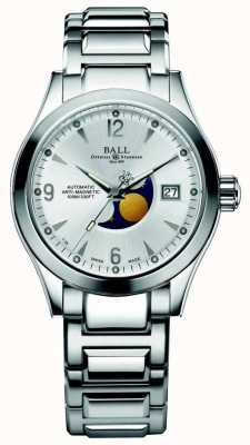 Ball Watch Company Ohio Moon Phase Automatic Silver Dial Date Display NM2082C-SJ-SL
