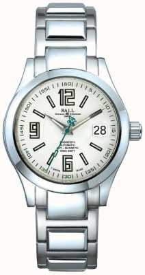 Ball Watch Company Engineer II Automatic Date Display White Dial Anti-Magnetic NM1020C-S4-WH