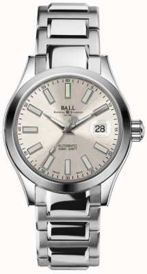 Ball Watch Company Engineer II Marvelight Automatic Champagne Dial Date Display NM2026C-S6-SL