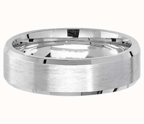 Treasure House Silver Satin 6 mm Wedding Band X G7181