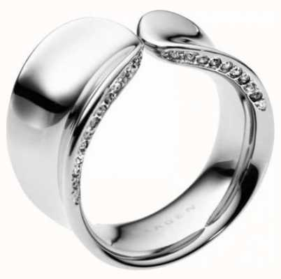 Skagen Ladies Stainless Steel Sea Resorts Ring SKJ0098040