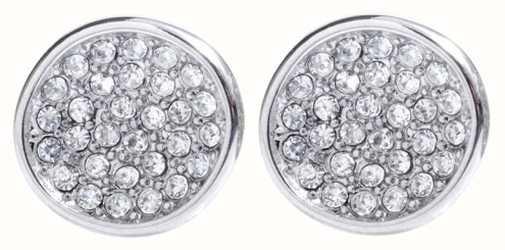 Skagen Womens Stainless Steel Seas Crystal Stud Earrings SKJ0119040