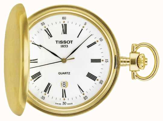 Tissot Gold Plated Savonette Pocket Watch Swiss Made T83455313
