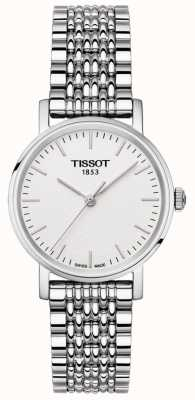 Tissot Womens Everytime Stainless Steel Bracelet Silver Dial T1092101103100