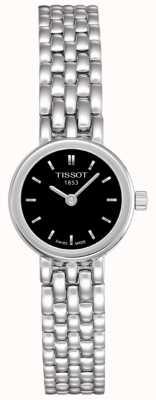 Tissot Womens Lovely Stainless Steel Black Dial Swiss Made T0580091105100