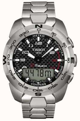 Tissot Mens T-Touch Expert Titanium Alarm Chronograph T0134204420200