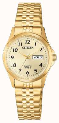 Citizen Women's Stainless Steel Expansion Watch EQ2002-91P
