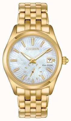 Citizen Women's Eco-Drive Corso Mother Of Pearl Dial EV1032-51D