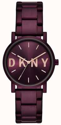 DKNY Soho Womens Purple PVD Plated Bracelet NY2766
