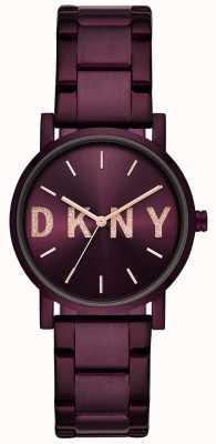 DKNY Soho Womens Purple PVD Plated Bracelet NY2766