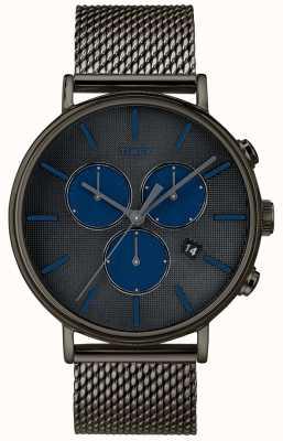 Timex Fairfield Supernova Chronograph Watch Grey Mesh Strap TW2R98000D7PF