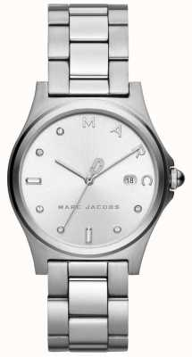Marc Jacobs Womens Henry Watch Silver Tone MJ3599