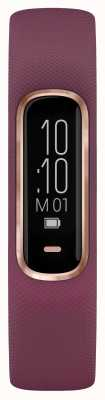 Garmin Vivosmart 4 HR Ox Tracker Small/Medium Purple Rose Gold Case 010-01995-01