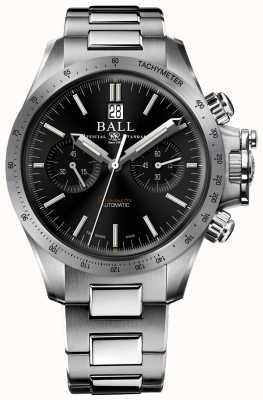 Ball Watch Company Engineer Hydrocarbon Racer Chronograph 42mm Black Dial CM2198C-S2CJ-BK