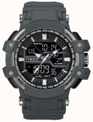 Timex Mens 50mm Dark Grey Case Dark Grey Strap TW5M22600