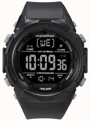 Timex Mens 50mm Black Case Black Strap TW5M22300