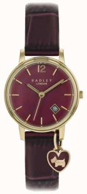 Radley Ladies Watch Rose Gold Case Purple Strap RY2718