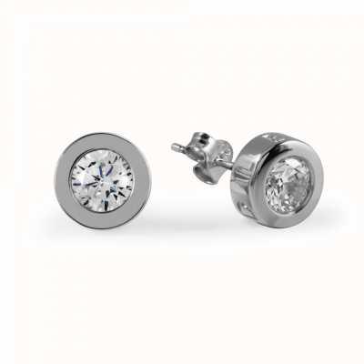 Radley Jewellery CZ Set Silver Stud Earrings RYJ1031