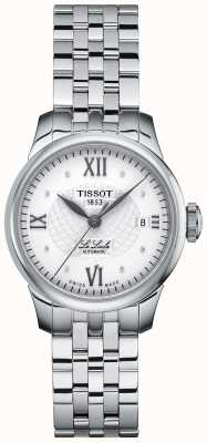 Tissot Ladies Le Locle Thin Diamond Set Automatic Watch T41118316