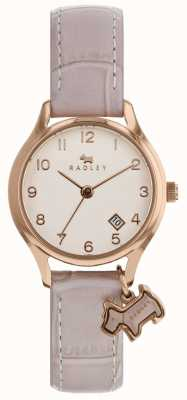 Radley Womens Liverpool Street Pink Leather Strap RY2588