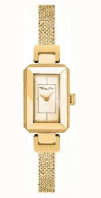 Thomas Sabo Womens Stainless Steel Yellow/gold Bracelet, Gold Dial WA0331-246-207-23