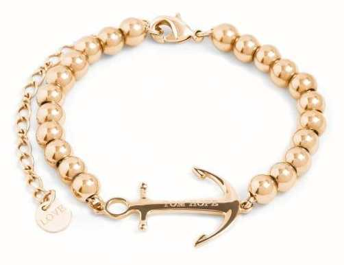 Tom Hope Womens Saint Perline Gold Beads Bracelet TM0341