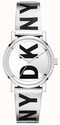 DKNY Womens Soho Silver Watch NY2786