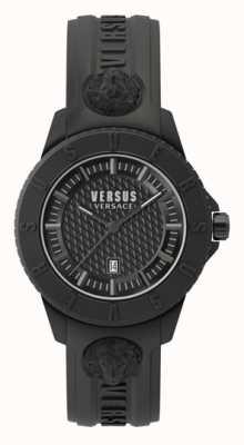Versus Versace Tokyo R | Black Dial | Black Silicone Strap VSP0Y2318