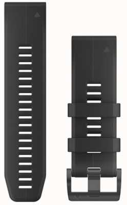 Garmin Black Rubber Strap QuickFit 26mm Fenix 5X / Tactix Charlie 010-12741-00