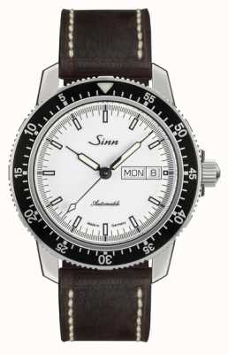 Sinn St Sa I W Classic Pilot Watch Light Brown Calfskin Vintage L 104.012-BL50202002007125401A
