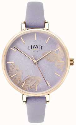 Limit | Womens Secret Garden Watch | Purple Butterfly Dial | 60015