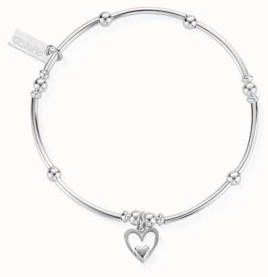 ChloBo Womens | Mini Noodle Ball Heart In Heart | Bracelet SBMNB732